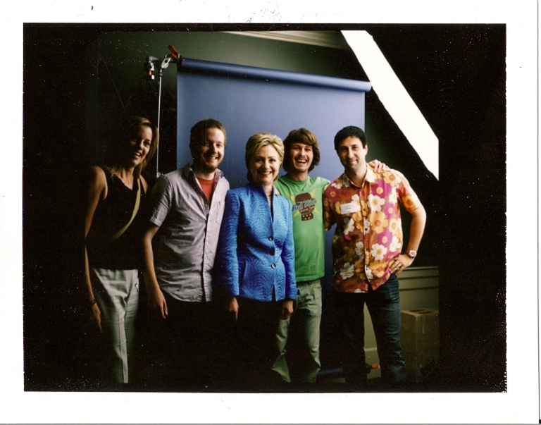 Photo-op with Hillary Clinton