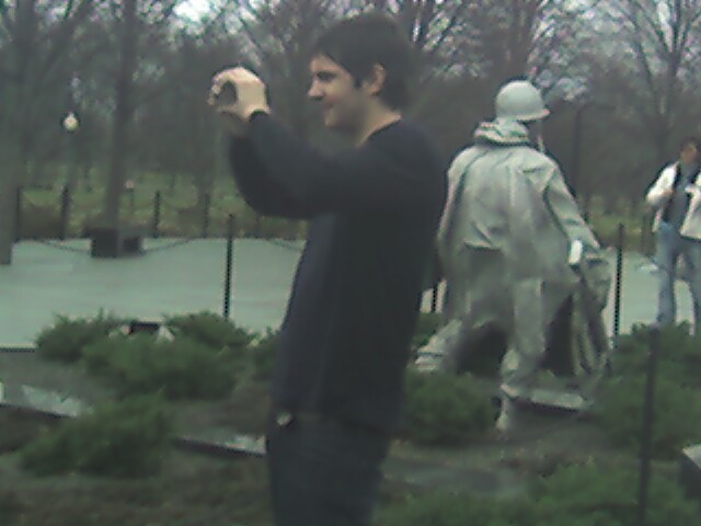 jim sturgess at korean memorial