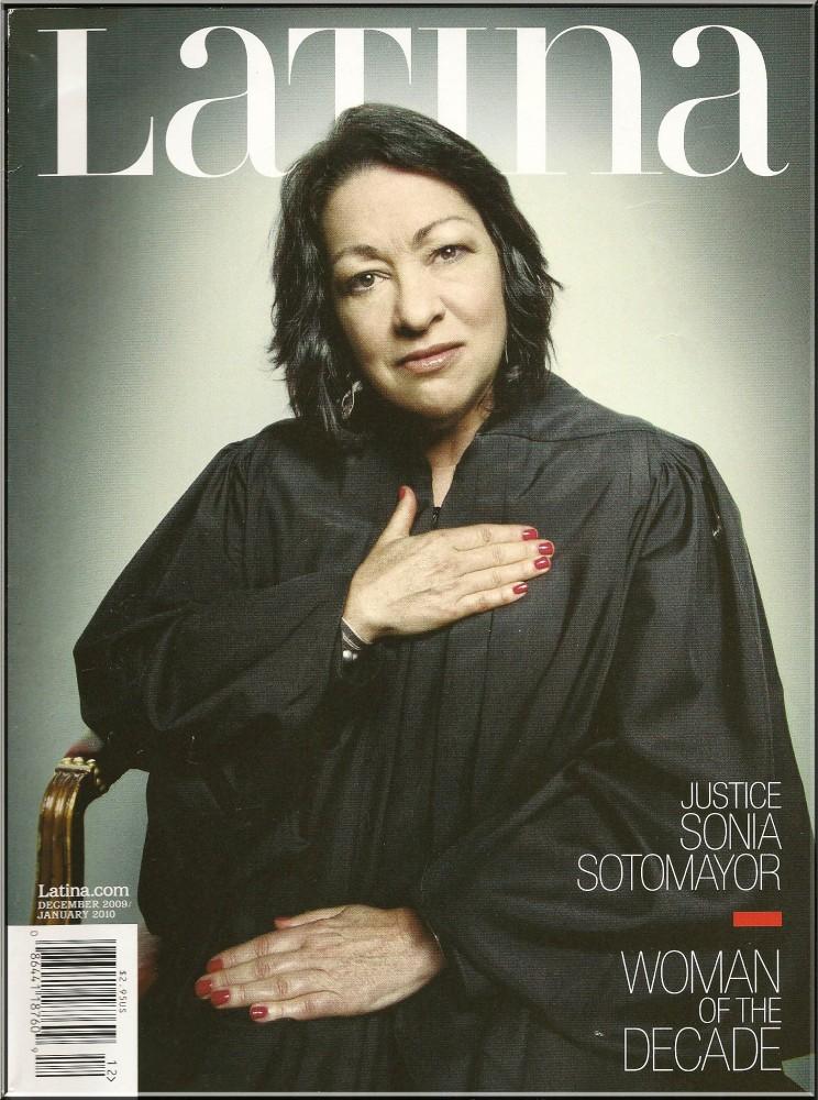 Latina Magazine's Woman of the Decade: Sotomayor