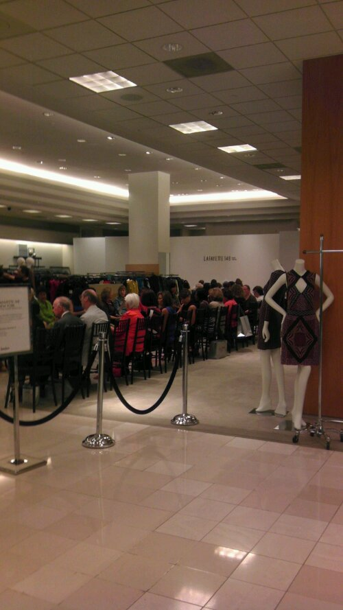 Behind the Scene: Fashion Show at Neiman Marcus (2/4)