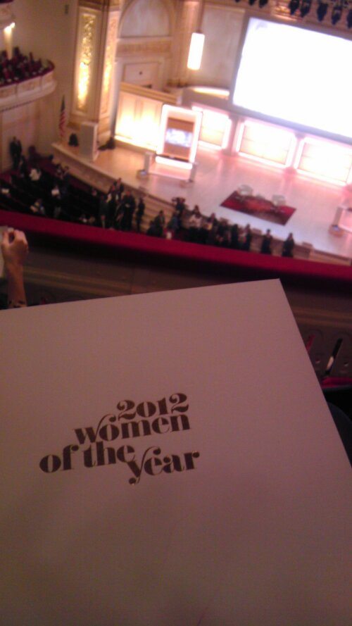 GLAMOUR Women of the Year 2012 (3/5)